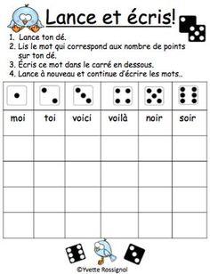 Pour les ateliers ou la pratique autonome! Jeux de mots SANS préparation!