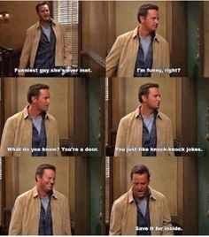 Oh Chandler...