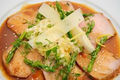 Recept: Pečené teľacie stehno so špargľovým rizotom | Nebíčko v papuľke