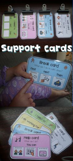 These support cards