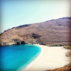Exotic Achla beach in Andros island (Άνδρος)