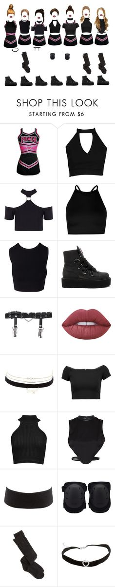 """G-2 _"" by xxeucliffexx ❤ liked on Polyvore featuring DC Shoes, Boohoo, Puma, Lime Crime, Charlotte Russe, Alice + Olivia, Cushnie Et Ochs and Morgan"