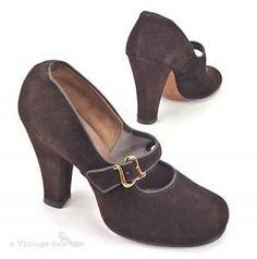 Unworn Vintage Shoes from A Cool Vintage Shoe Site