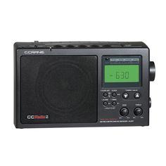 C. Crane CC2BE CCRadio 2E Enhanced AM/FM/WX/2-Meter Ham Band Radio (Black Mica)