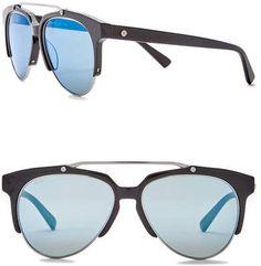 7f8c0cea49de MCM Men's Semi-Rimless 57mm Acetate Frame Sunglasses Fashion Tips, Fashion  Trends, Fashion