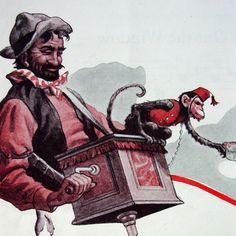 organ monkey vintage Buy grinder