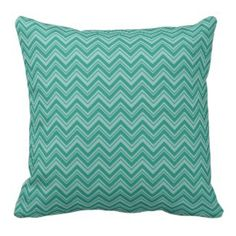 Shades of Teal Green Chevron Throw Pillow See our full collection of Pretty Throw Pillows www.prettythrowpillows.com US Made by Independent Small Business Artists Teal Chevron, Chevron Throw Pillows, Shades Of Teal, Pink Walls, Teal Green, Artists, Business, Pretty, Decor