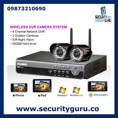 Looking for a covert camera that you can put anywhere? Our WiFi Clock Weather Station Spy Camera/DVR w/Rotatable Lens, offers WIFI capabilities, FM Radio, Clock, and weather station. Wireless Surveillance Camera, Cctv Security Cameras, Wireless Camera, Wireless Security, Security Camera System, Security Surveillance, Surveillance System, Home Security Systems, Security Alarm