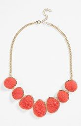 Stephan & Co. Glitter Stone Necklace (Juniors)