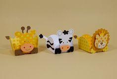Lindas forminhas animais do safári para decorar e encantar a criançada. Festa Safári - Festa Zoológico - Festa na Floresta - Festa na Selva