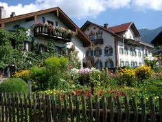 Oberammergau Germany- Bavarian Village. The kind of place fairy tales take place.