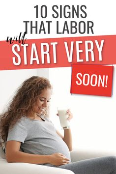 10 Signs that labor is coming soon! If you are in your third trimester of pregnancy particularly above 36 weeks then you baby could be due any moment. Find out how close to labor you really are with these 10 helpful signs. #pregnancy #childbirth #pregnant #birth Signs Of Labour, 36 Weeks, Brace Yourself, All About Pregnancy, Trimesters Of Pregnancy, Third Trimester, Brown Skin, New Moms, Birth