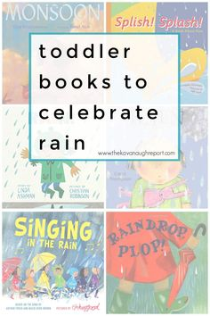 Montessori friendly books that celebrate rainy weather for toddlers and young children. These books help remind you of the beauty of getting outside Jamel, Complicated Relationship, Rainy Weather, Rainy Season, Toddler Books, Get Outside, Montessori, The Outsiders