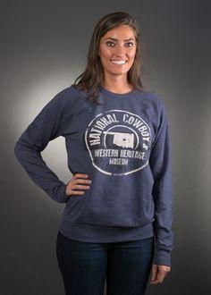 Navy Long Sleeve Museum Shirt