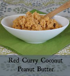Red Curry Coconut Peanut Butter