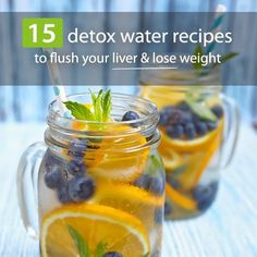 15 Detox Water Recipes to Flush Your Liver.  www.bembu.com