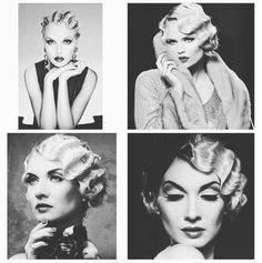 #throwbackthursday We love finger waves ❤️Finger waves are so glamorous! Fashion always looks back to go forward! We've seen this look on the likes of Taylor Swift, taking this vintage trend and making it current! #hairstyle #fingerwaves #glamour #vintage #vintagehair #1920s