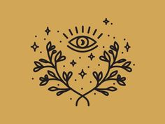Sacred Icons Sacred Icons illustration third eye moon laurel wreath spiritual logomark logo line artwork line icon iconography icon artwork icon eye celestial brand identity Eyes Artwork, Line Artwork, Ojo Tattoo, Abstract Illustration, Tattoo Illustration, Logo Line, Eye Art, First Tattoo, Future Tattoos