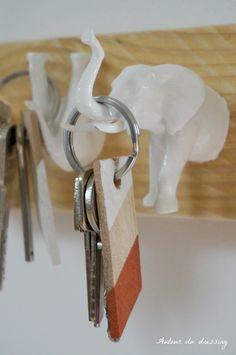 Nos amis les animaux avaient mis le pied dans la tendance avec les cabinets de curiosités. Après les papillons et les petits oiseaux, c'est au tour des chiens, des éléphants et autres rhinocéros de s'inviter. Une sélection de DIY sympas et utiles… http://mycdeco.blogspot.fr/ http://www.cdecoandco.com/