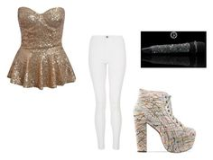 """""""Tour performance outfit"""" by slayyeettia ❤ liked on Polyvore featuring Quiz"""