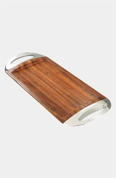 Nambé 'Grande' Wood Tray available at #Nordstrom