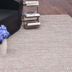Boise Brown Area Rug Rugs White