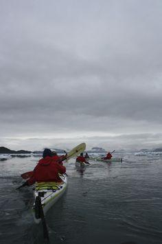 kayaking in Alaska