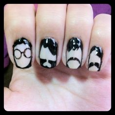 My Nail Art : The Beatles