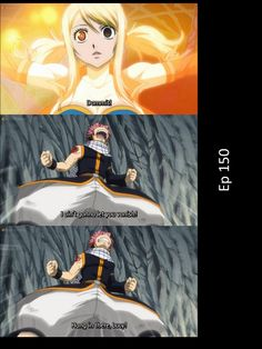 Nalu, Fairy Tail. Love this episode 150