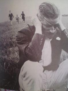 James Joyce, South of France, 1922.