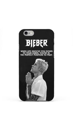 @FACTJDB design -When life knocks you down, perfect position to pray Phone Case