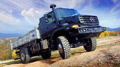 End of the world insurance? Semi Trucks, Big Trucks, Mercedes Benz Zetros, Tactical Truck, Mercedes Benz Trucks, Tool Sheds, Range Rover Sport, Armed Forces, Military Vehicles