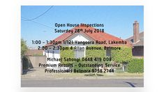 AN INVITATION TO OUR OPEN HOME INSPECTIONS SATURDAY 28TH JULY 2018  WE LOOK FORWARD TO SEEING YOU  MICHAEL SABONGI 0448 419 008 | 9758 2744 PREMIUM RESULTS | OUTSTANDING SERVICE Looking Forward To Seeing You, Home Inspection, Open House, Invitation, Invitations, Open Plan House, Reception Card