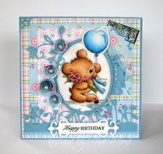 LOTV - Teddy With Balloon by DT Moni - http://www.liliofthevalley.co.uk/acatalog/Stamp_-_Teddy_with_Balloon.html