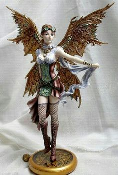 'Jess' - Steampunk Fairy