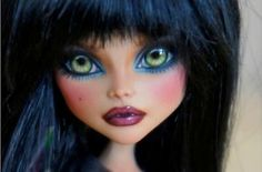 Ooak Monster High Cleo DE Nile Custom Repaint BY Rogue Lively | eBay
