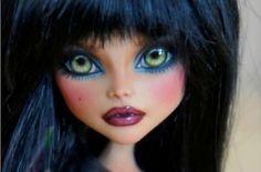 Ooak Monster High Cleo DE Nile Custom Repaint by Rogue Lively | eBay