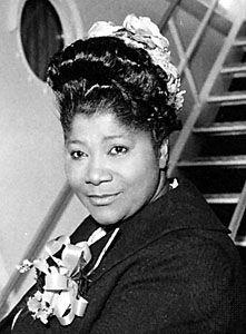 "Mahalia Jackson ""Take My Hand Precious Lord"" greatest of all time gospel singer."