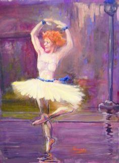 "Saatchi Arte Artista Emérito Profesor Peter Bagnolo;  Pintura, #art ""Danze Danze Macabra La Morte '"""
