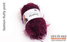A Rico Fashion Fluffy nevét a puha, bolyhos tapintásáról kapta. A divatos műszőrme jellegű kötőfonal több pasztel színben is elérhető. Egy 100 grammos fonalból egy egész sál készíthető.  http://saraeskata.com/component/hikashop/termek/1091-rico-fashion-fluffy-koetofonal