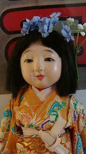 Japanese doll - glass eyes