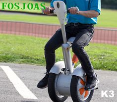 Smart Fosjoas K3 Saddle-Equipped Self-balancing Scooter Makes Travel Much Safer and Enjoyable