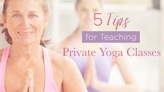 Always dreamed of teaching private yoga? Here's how.