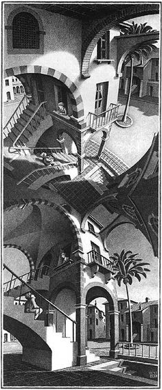 MC Escher - Master of perspective