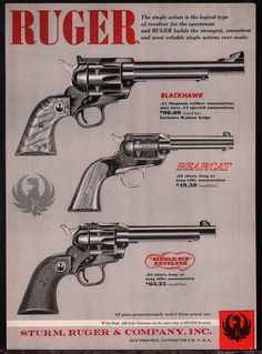1961 RUGER Blackhawk, Bearcat, Single-Six Revolver Vintage Gun ADLoading that magazine is a pain! Get your Magazine speedloader today! http://www.amazon.com/shops/raeind