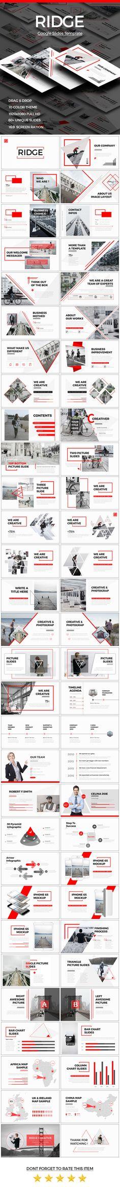 RIDGE - CREATIVE Google Slide Template - Google Slides Presentation Templates