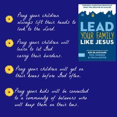 Lead Your Family Like Jesus #TriciaGoyer