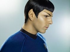 Spock (Zachary Quinto)..and technically Spock's not my species, I know.