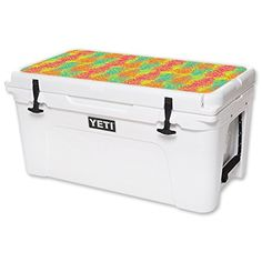 MightySkins Protective Vinyl Skin Decal for YETI Tundra 65 qt Cooler Lid wrap cover sticker skins Spring Pines ** Be sure to check out this awesome product.-It is an affiliate link to Amazon. #CampKitchenEquipment