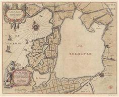 Wetenschappelijke Revolutie - Drooglegging Rembrandt, Early World Maps, Hellenistic Period, Classical Antiquity, Old Maps, City Maps, Topographic Map, Genealogy, Netherlands
